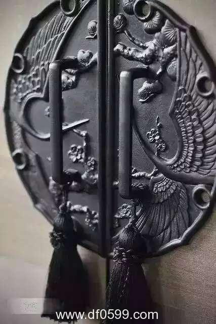 铝艺配件大门