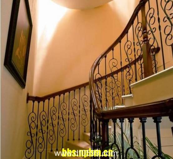 铁艺楼梯,给你不一样的感觉!